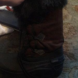 Tall winter boots